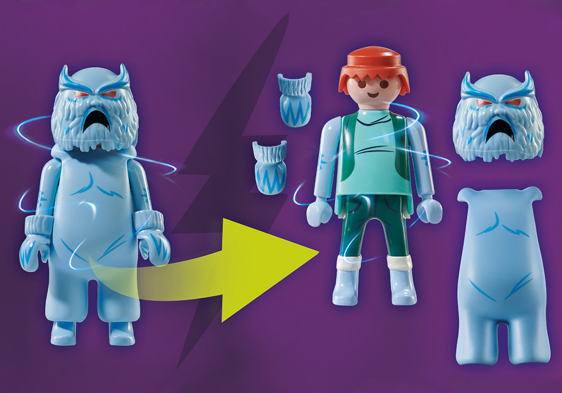 70706 SCOOBY-DOO avec abominable spectre des neiges  zoom image4