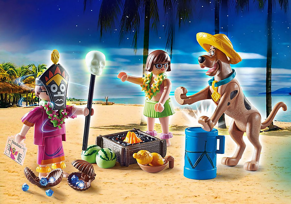 70707 SCOOBY-DOO! Abenteuer mit Witch Doctor detail image 1