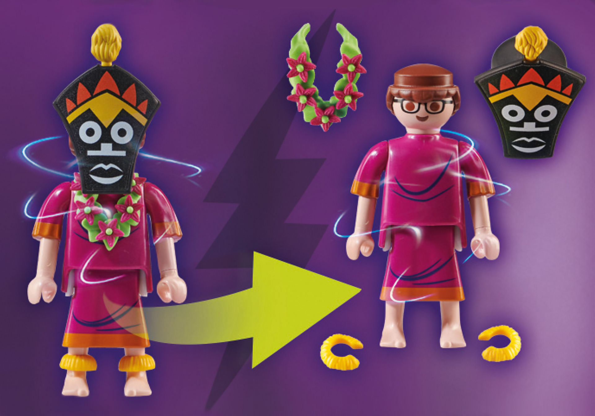 70707 SCOOBY-DOO! All'inseguimento del Witch Doctor zoom image3