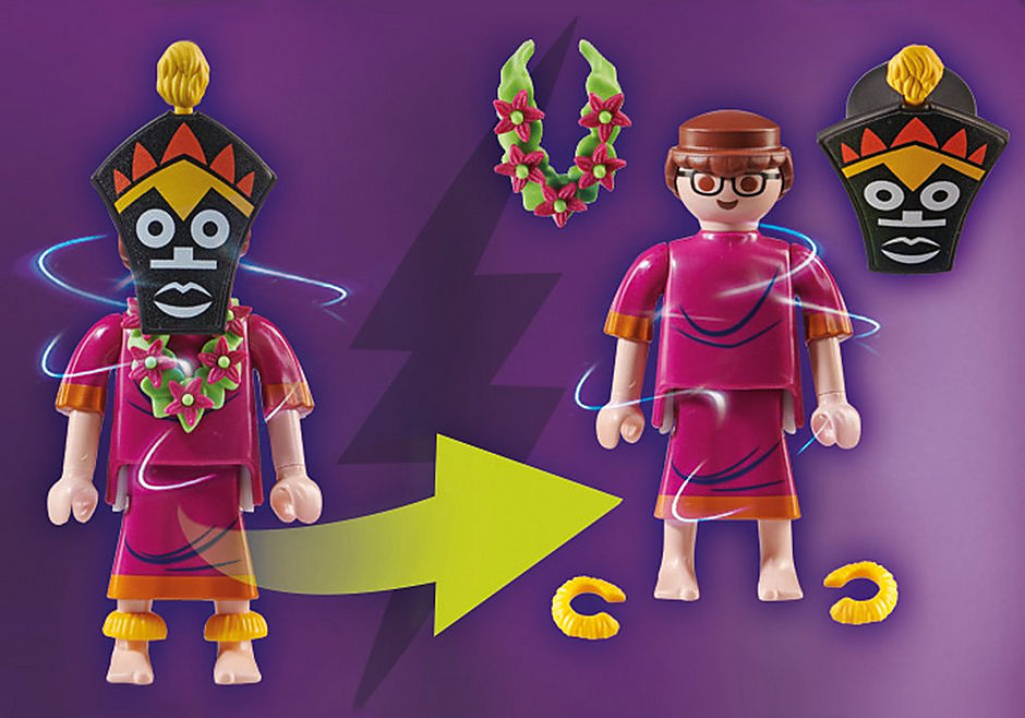 70707 SCOOBY-DOO! Eventyr med Witch Doctor detail image 3