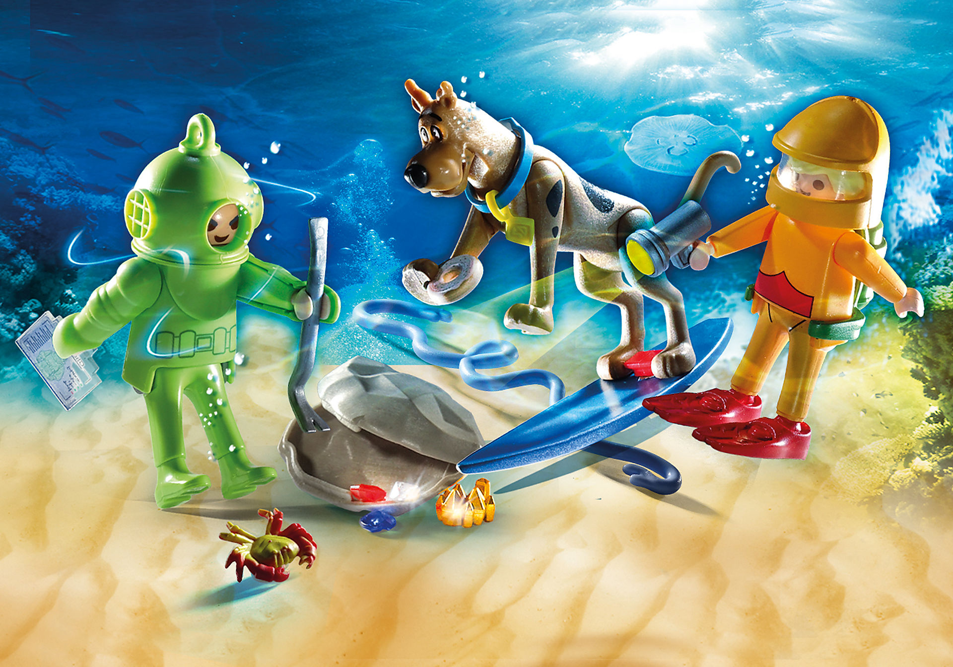 70708 SCOOBY-DOO! Adventure with Ghost Diver zoom image1