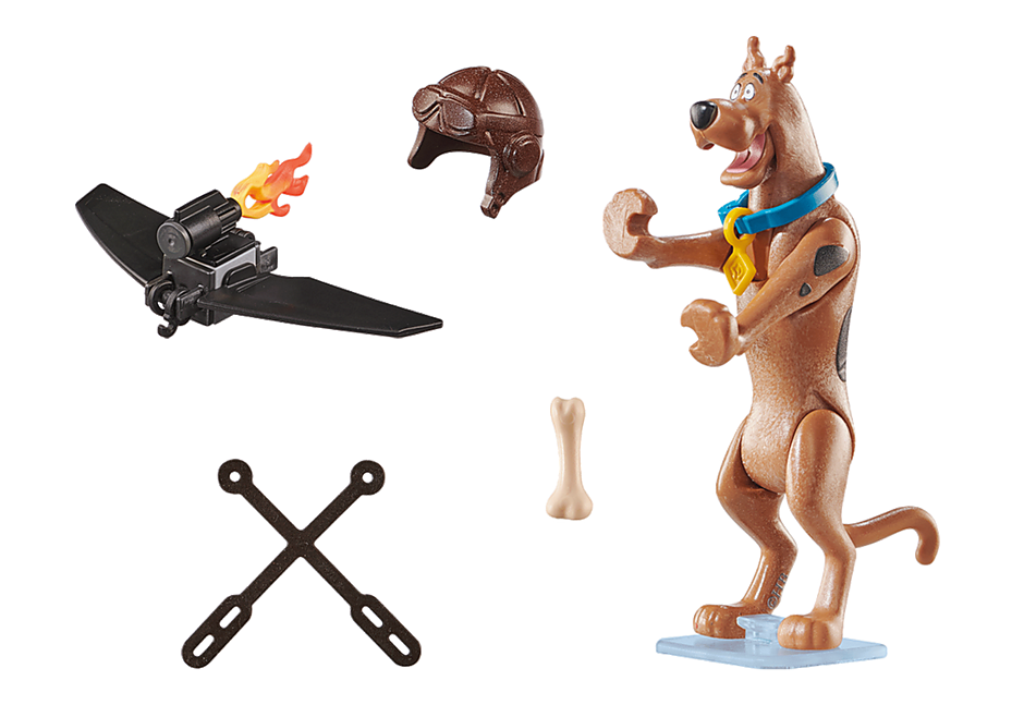 70711 SCOOBY-DOO! Collectible Pilot Figure detail image 3