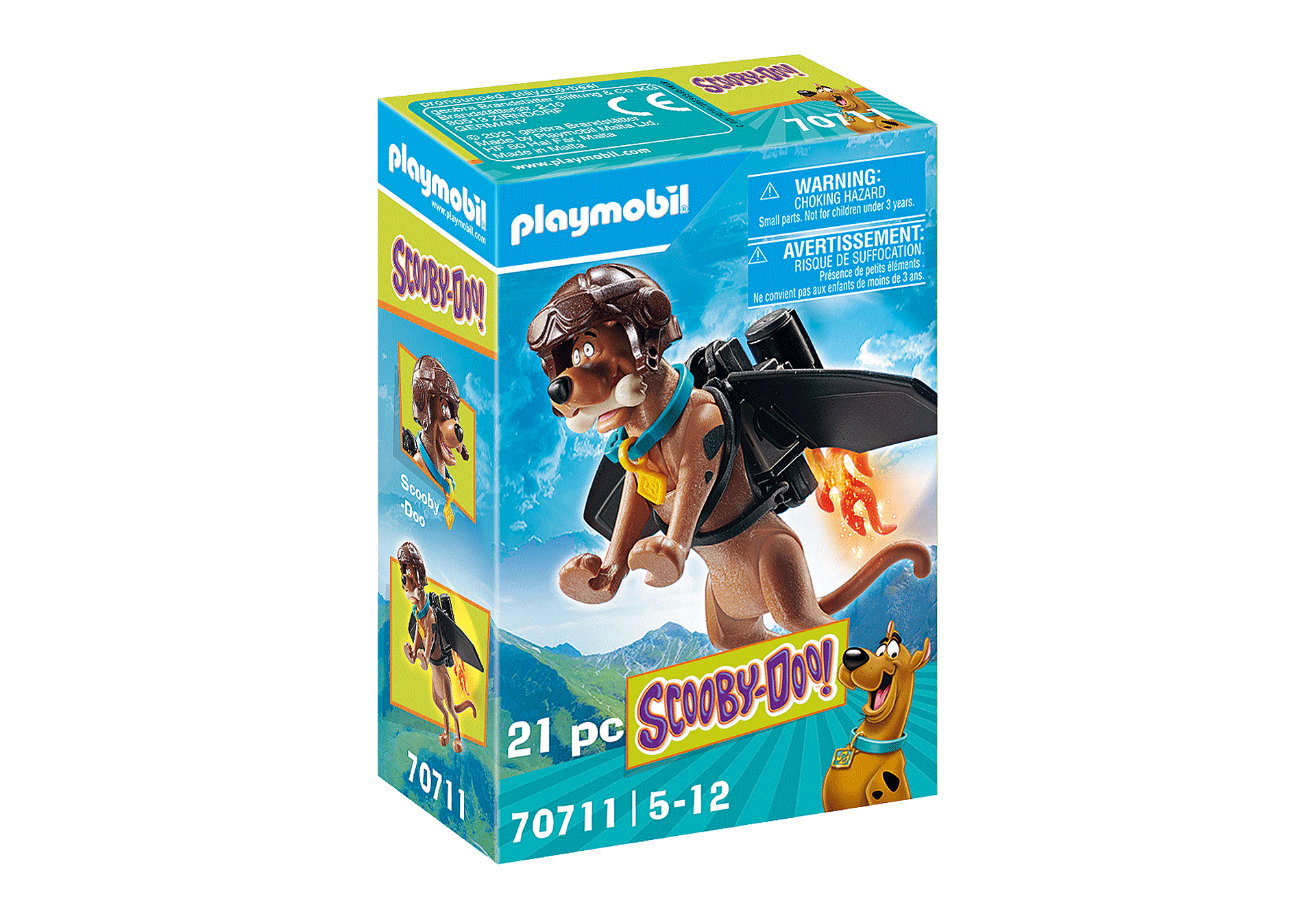 70711 SCOOBY-DOO! Scooby con jet pack zoom image3