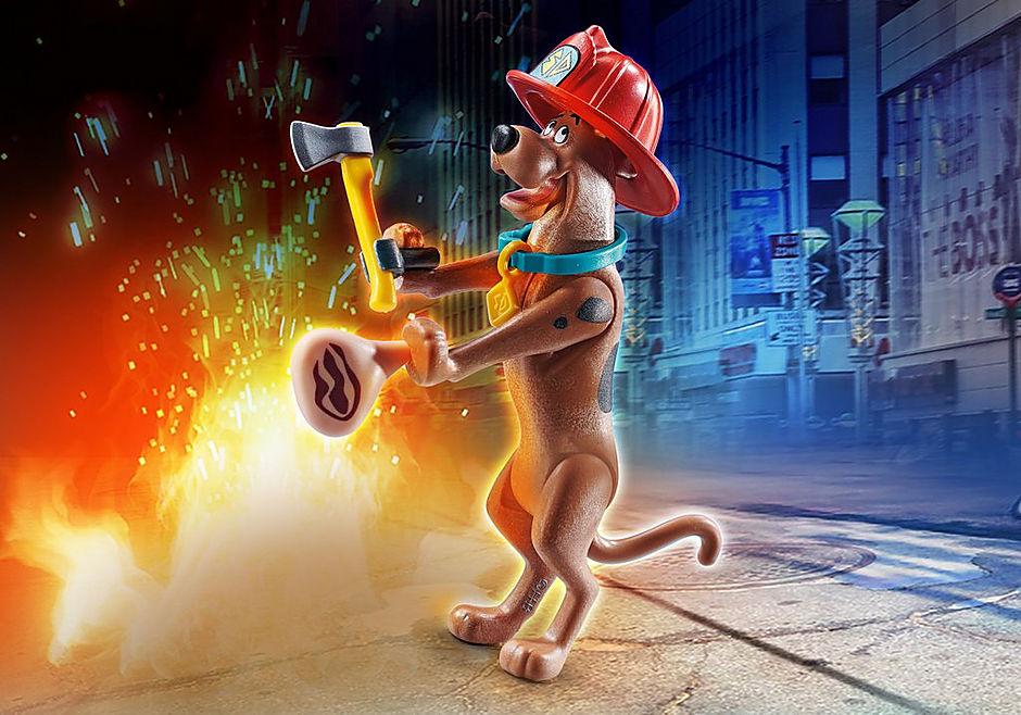 70712 SCOOBY-DOO! Scooby vigile del fuoco detail image 1
