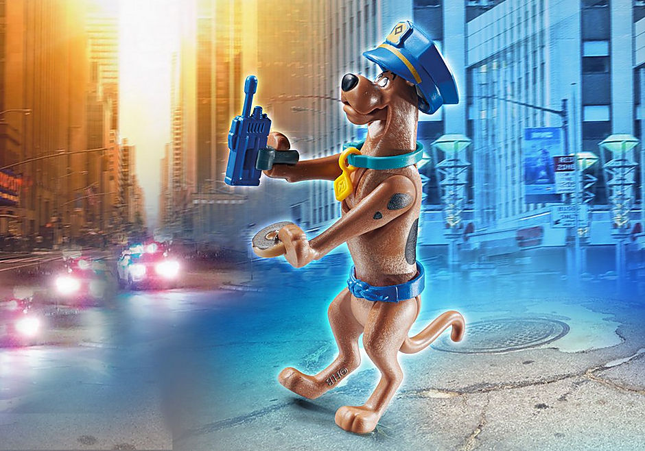 70714 SCOOBY-DOO! Collectible Police Figure detail image 1