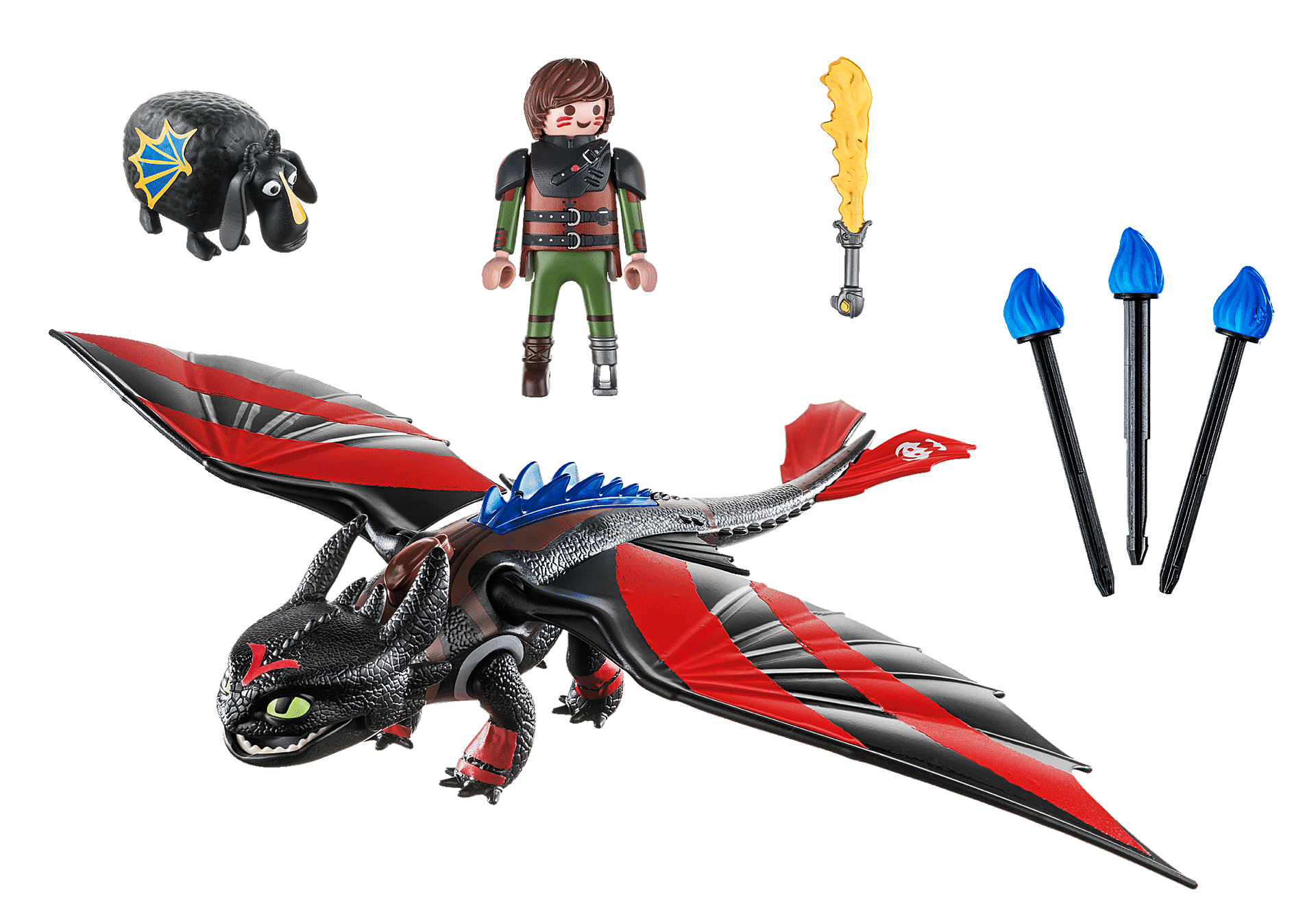 70727 Dragon Racing: Hiccup and Toothless zoom image3