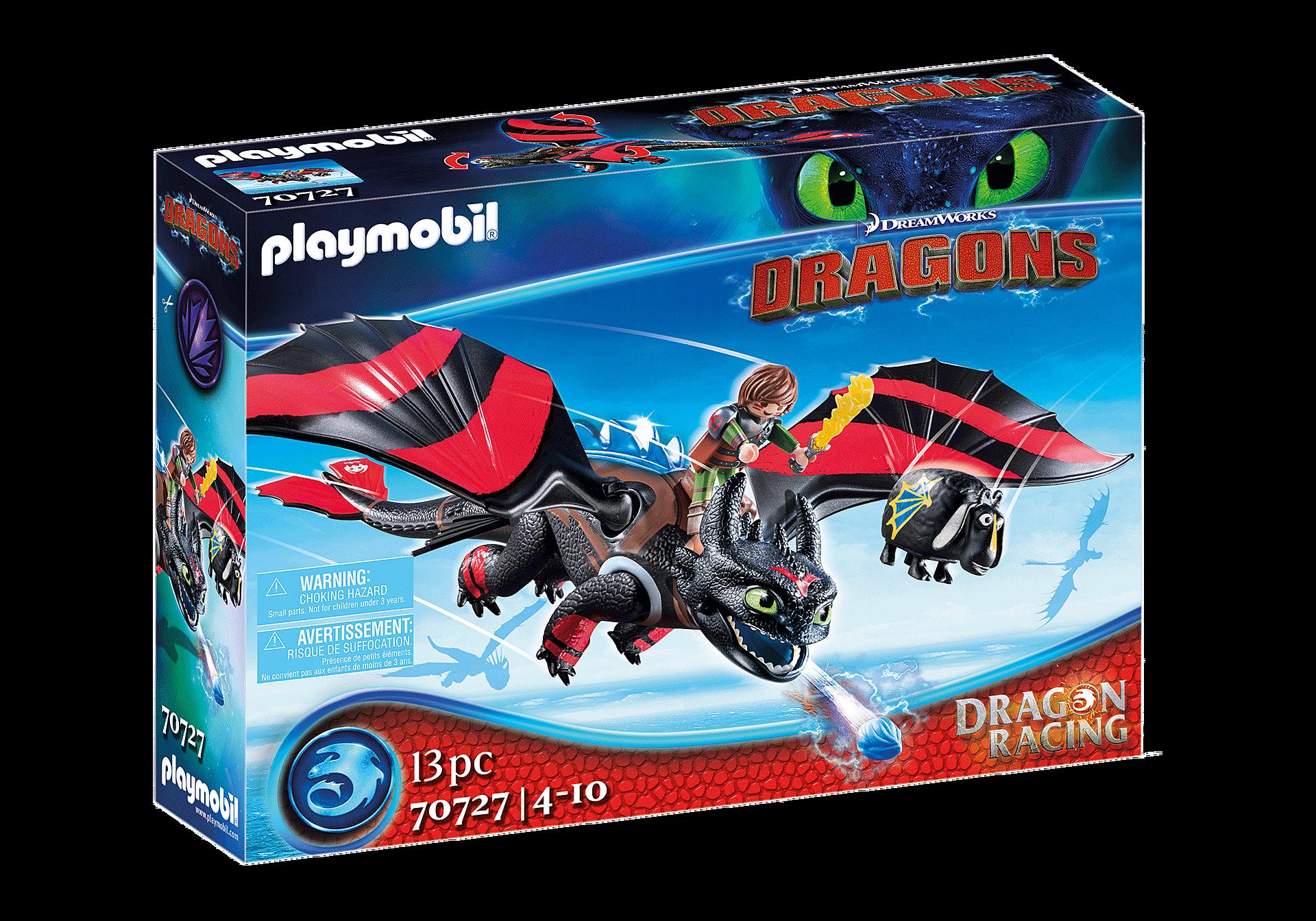 70727 Dragon Racing: Hipo y Desdentao  zoom image2