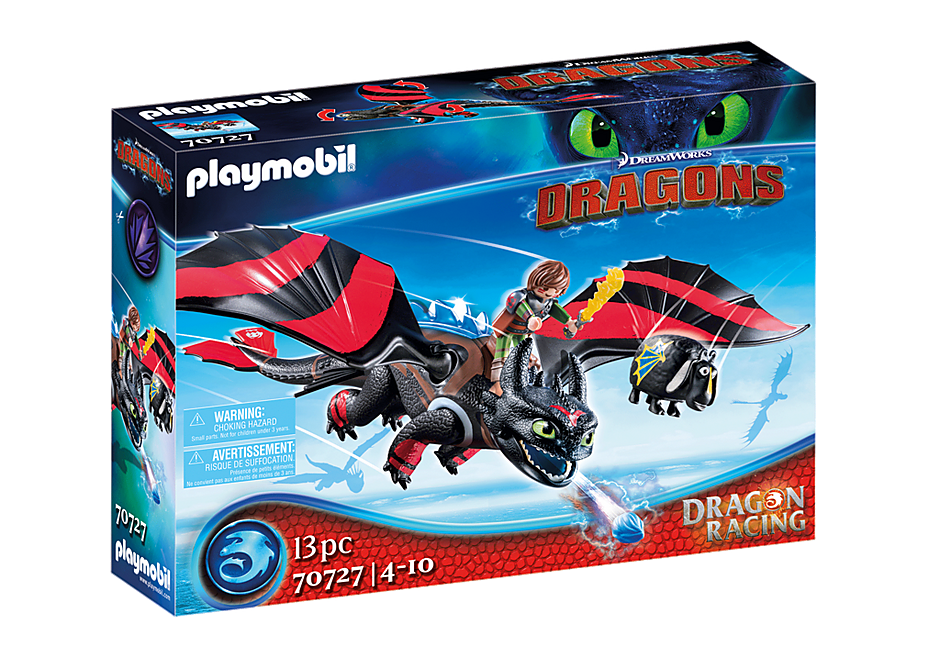 70727 Dragon Racing: Krokmou et Harold  detail image 2