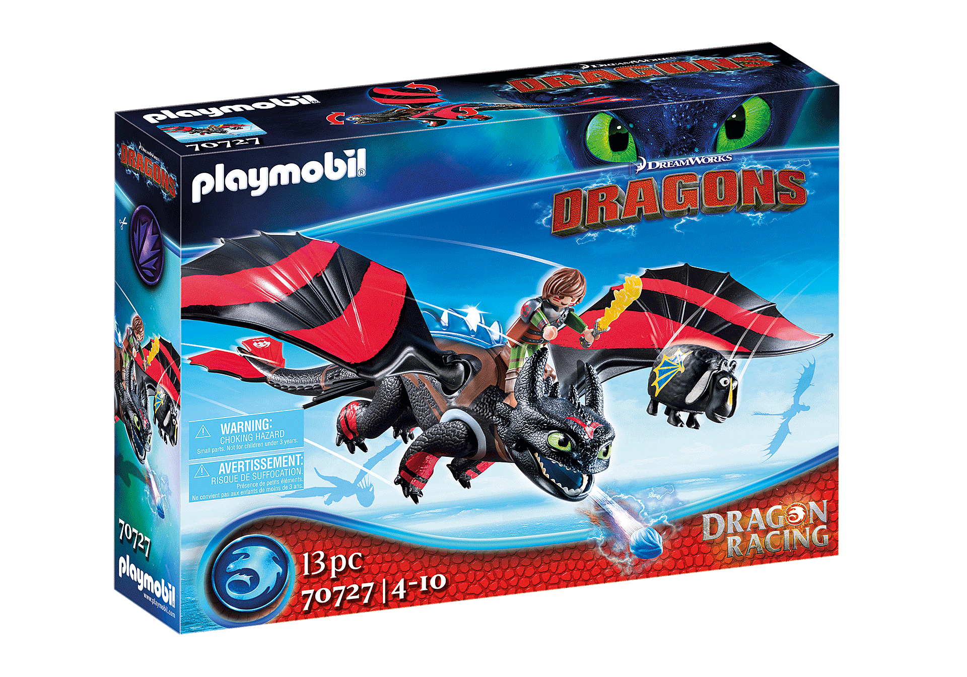 70727 Dragon Racing: Krokmou et Harold  zoom image2