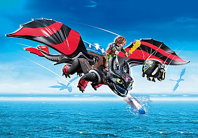 70727 Dragon Racing: Hiccup and Toothless