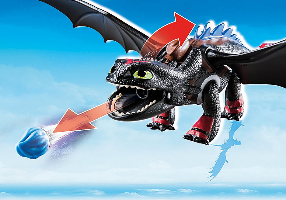 70727 Dragon Racing: Hiccup and Toothless detail image 4