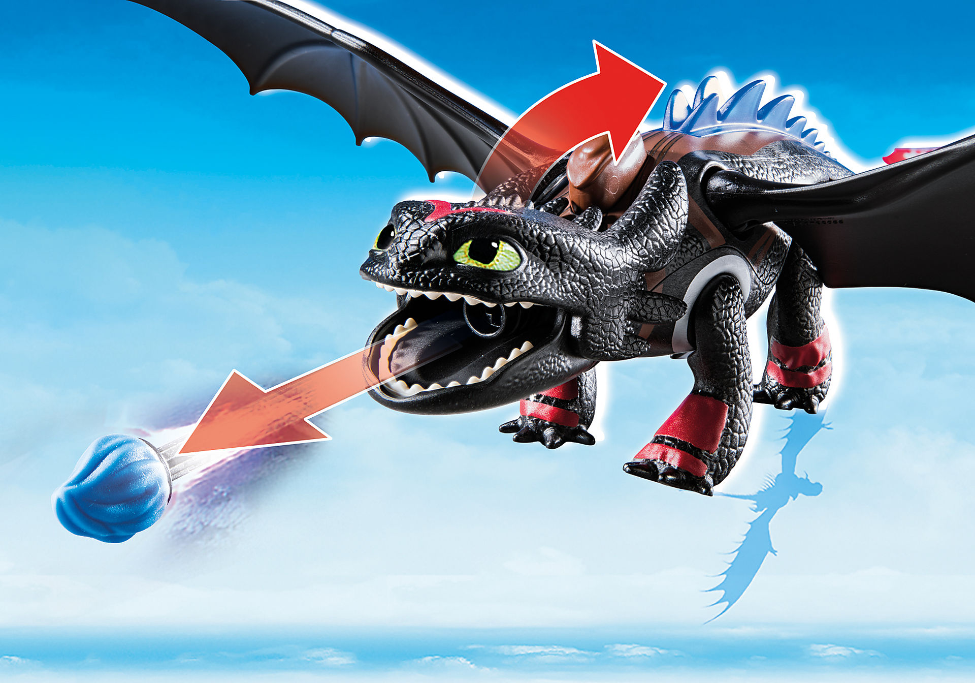 70727 Dragon Racing: Hiccup e Sdentato zoom image4