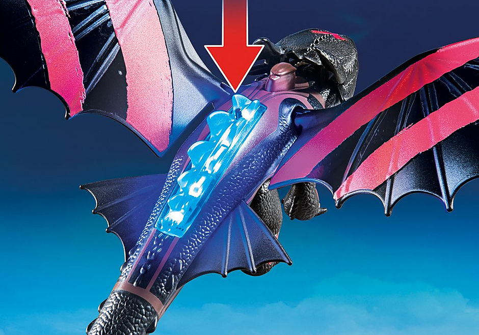 70727 Dragon Racing: Hiccup and Toothless detail image 5