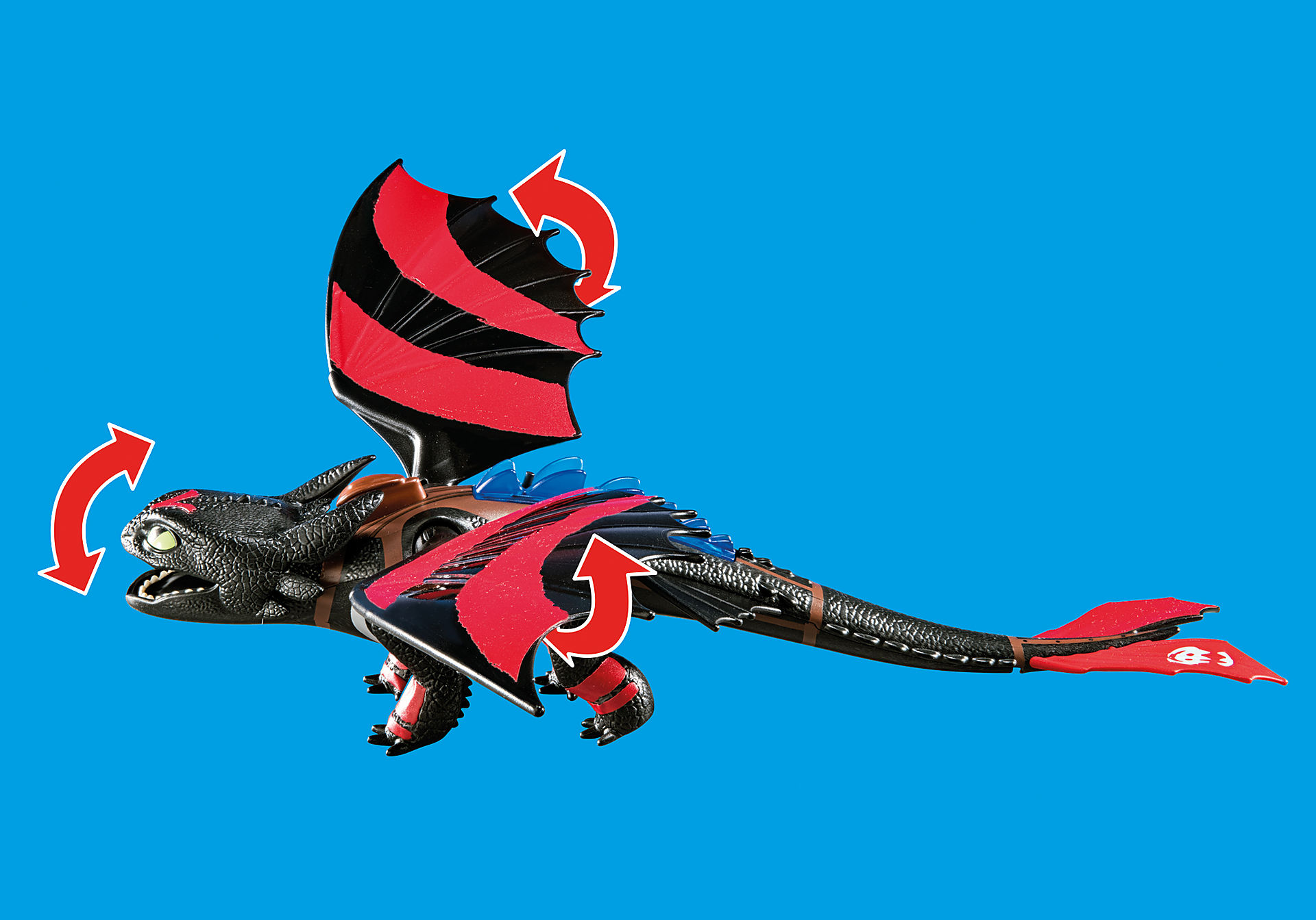 70727 Dragon Racing: Hiccup e Sdentato zoom image6
