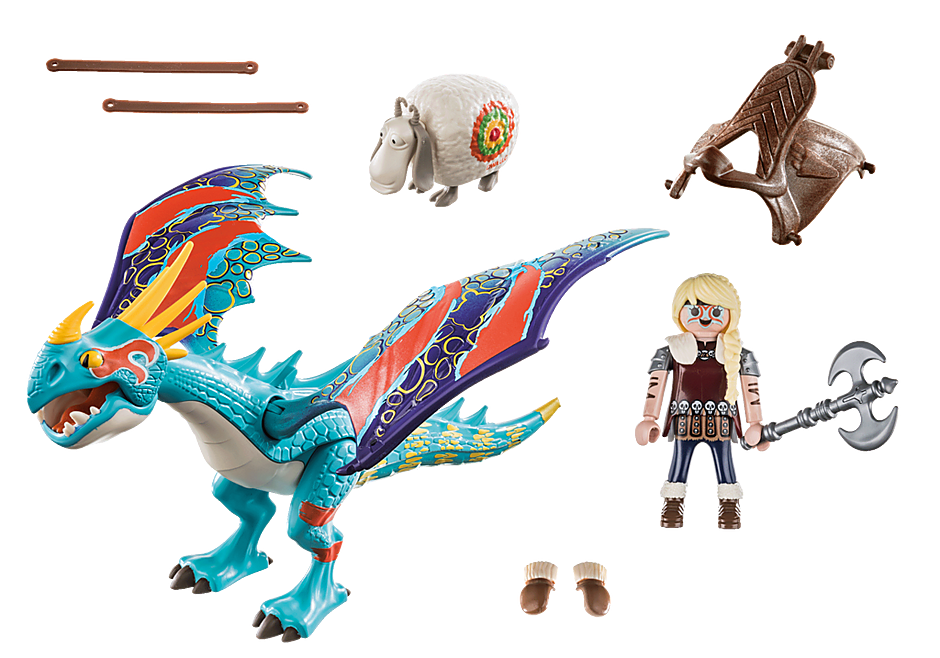 70728 Dragon Racing: Astrid and Stormfly  detail image 3