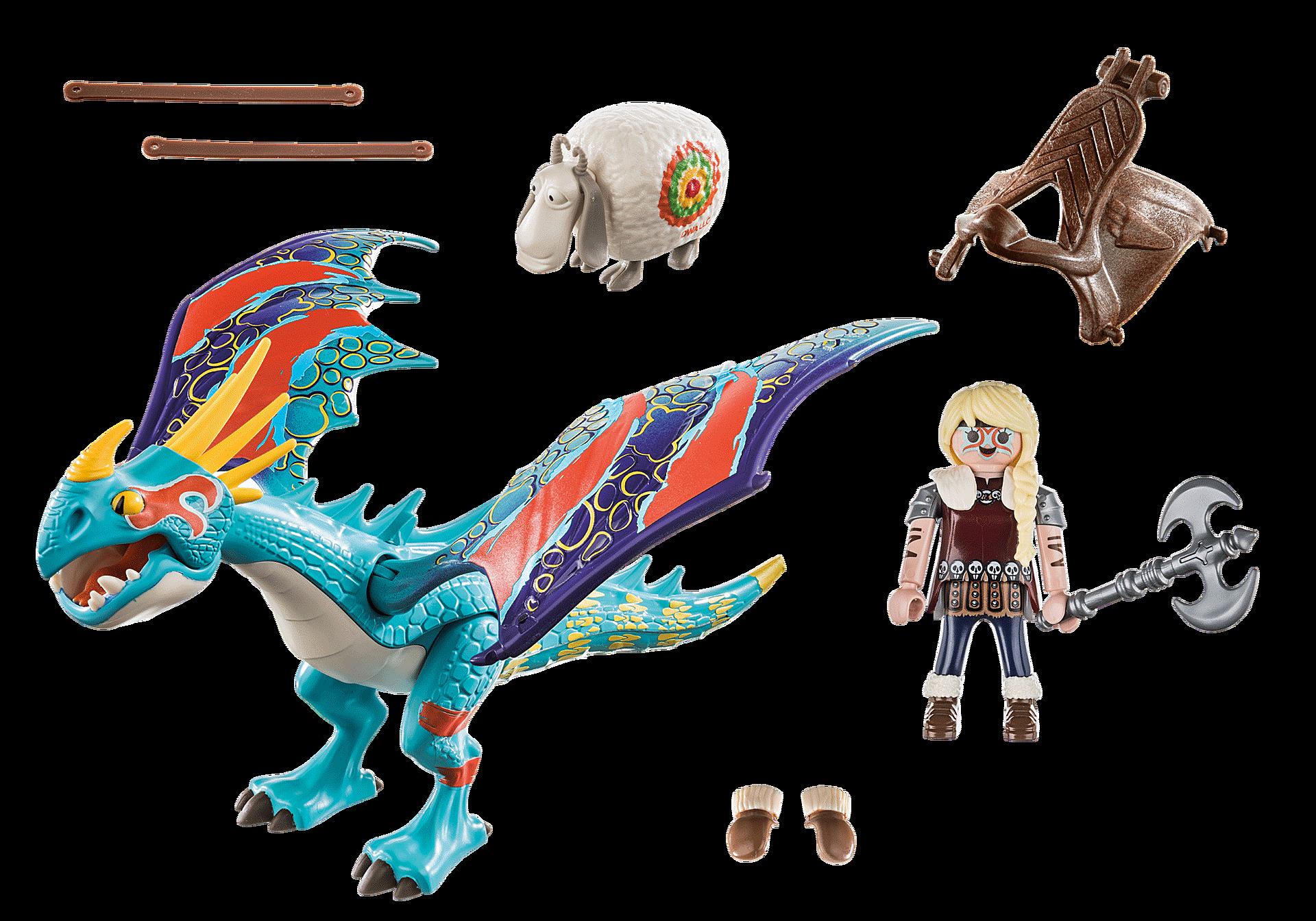 70728 Dragon Racing: Astrid and Stormfly  zoom image3