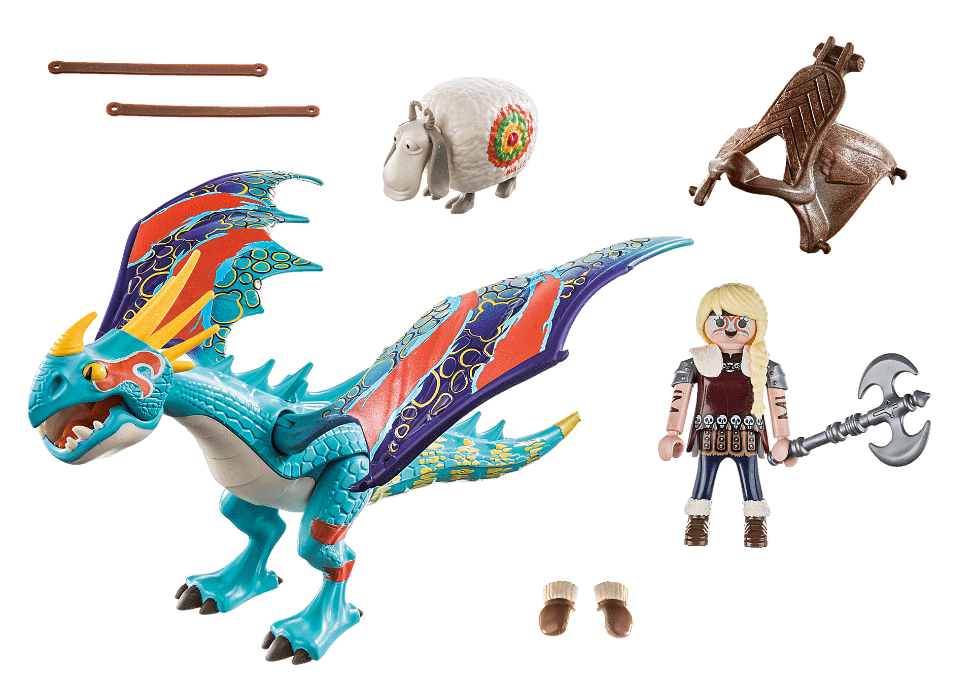 70728 Dragon Racing: Astrid and Stormfly zoom image3