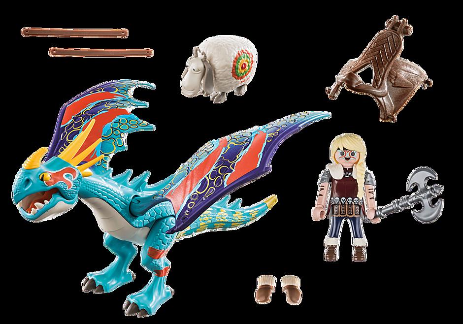 70728 Dragon Racing: Astrid e Tormenta  detail image 3