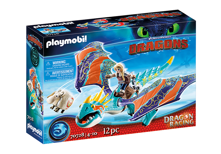 70728 Dragon Racing: Astrid and Stormfly  detail image 2
