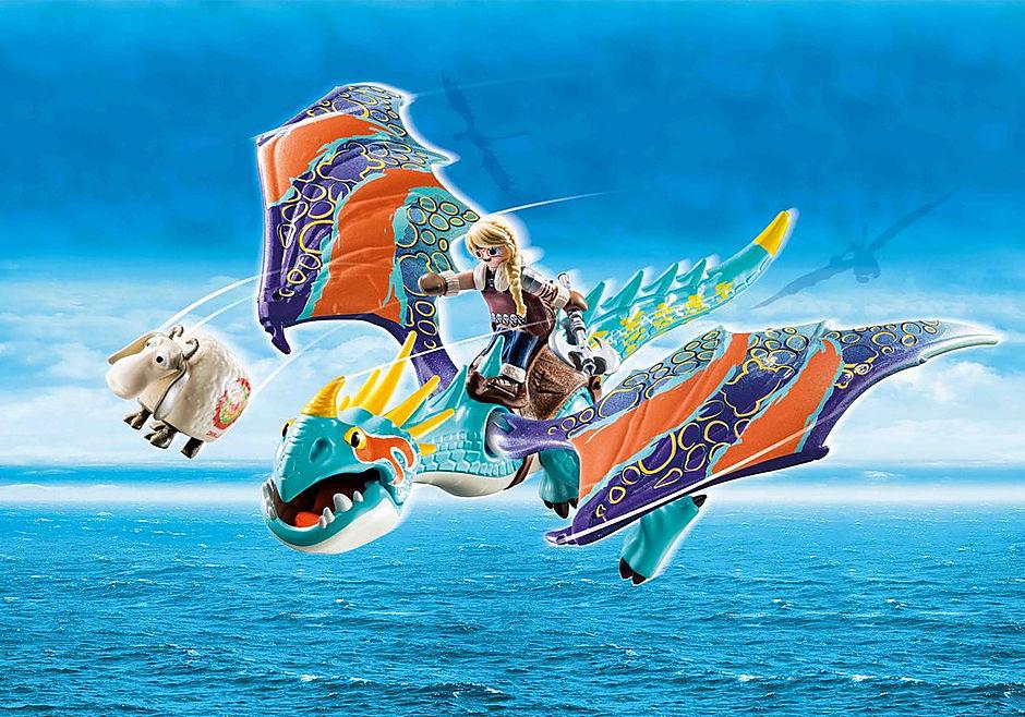 70728 Dragon Racing: Astrid en Stormvlieg detail image 1