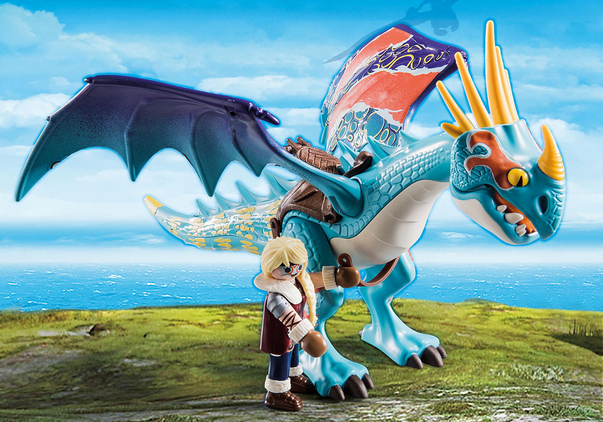 70728 Dragon Racing: Astrid and Stormfly  zoom image4
