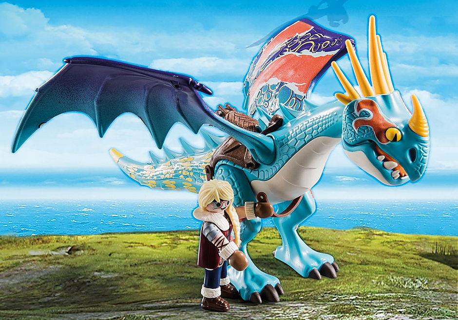 70728 Dragon Racing: Astrid e Tormenta  detail image 4