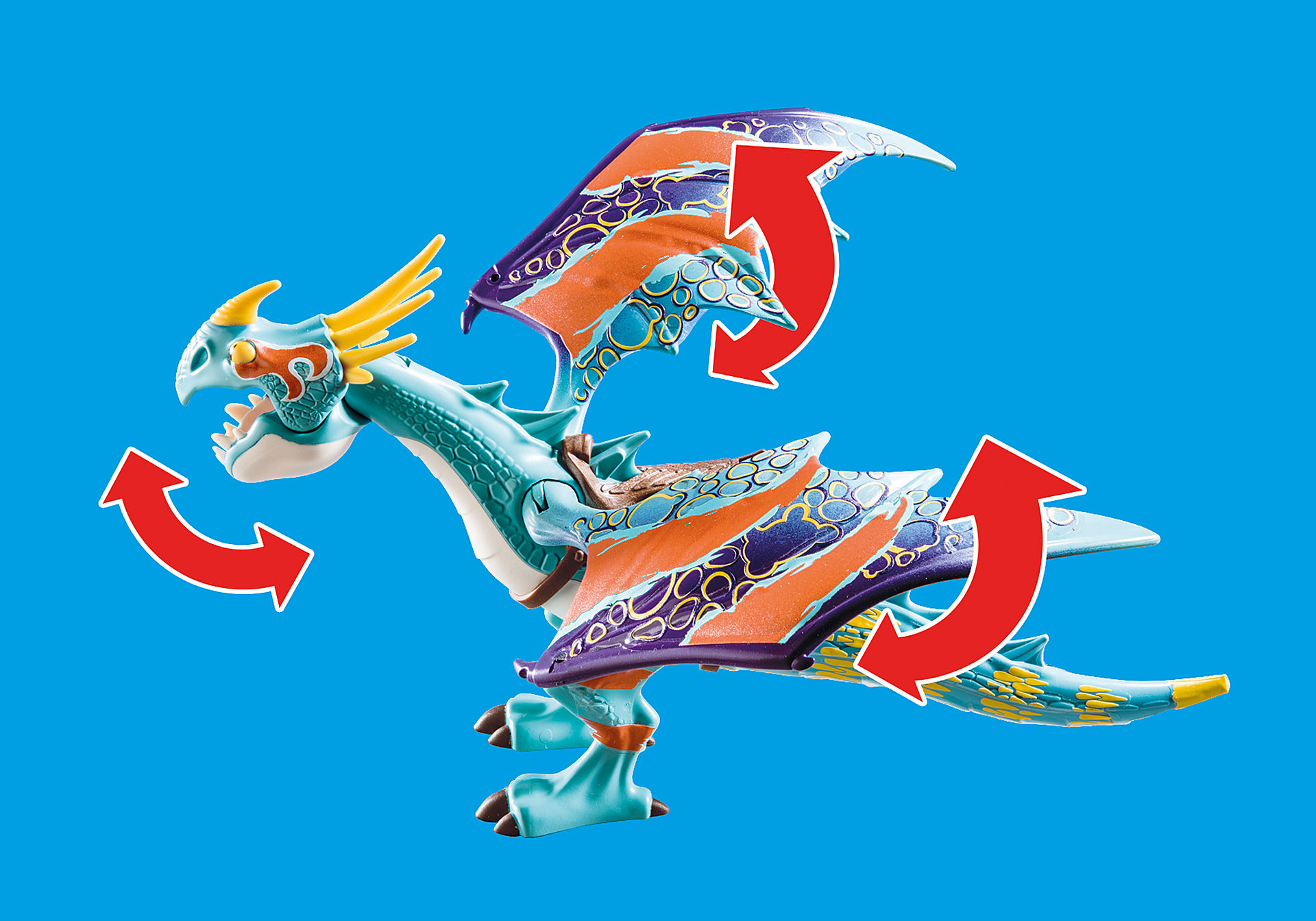 70728 Dragon Racing: Astrid and Stormfly  zoom image5