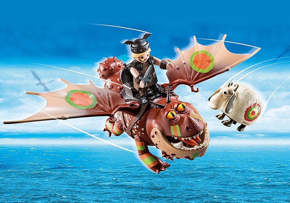 70729 Dragon Racing: Fishlegs and Meatlug  detail image 1