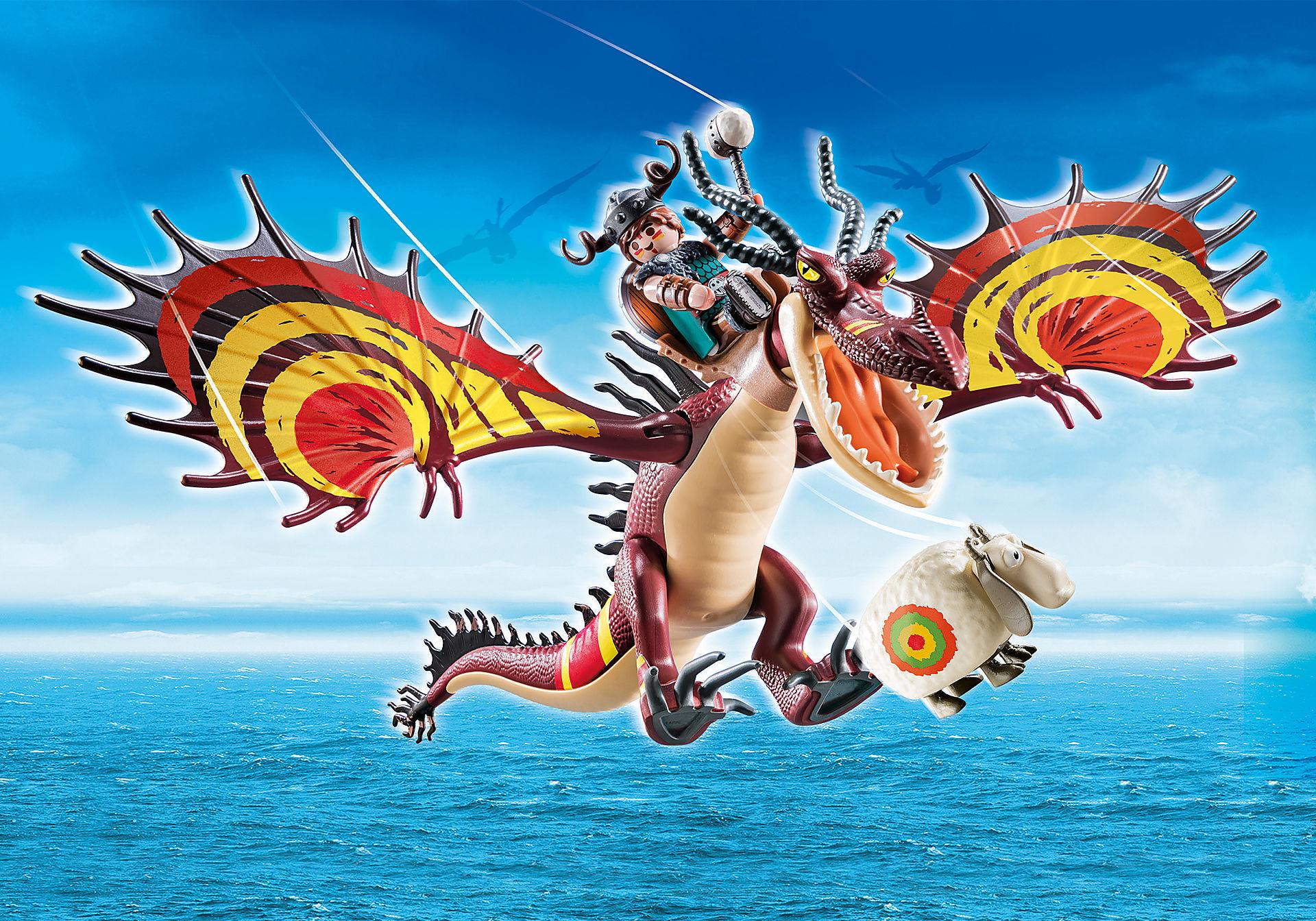 70731 Dragon Racing: Garfios y Patán Mocoso  zoom image1