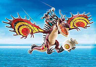 70731 Dragon Racing: Limalotja ja Hookfang