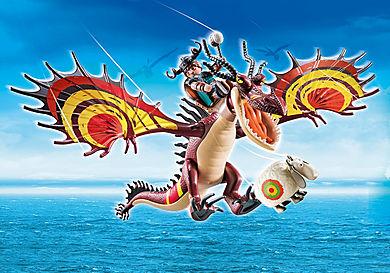 70731 Dragon Racing: Snotlout och Hookfang