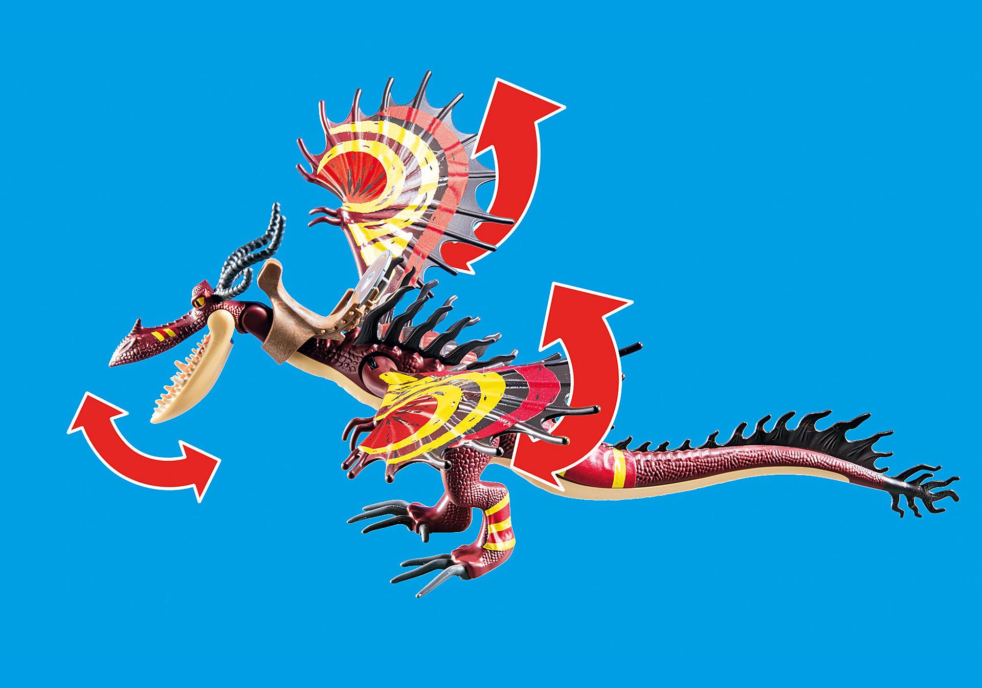 70731 Dragon Racing: Snotlout och Hookfang   zoom image4