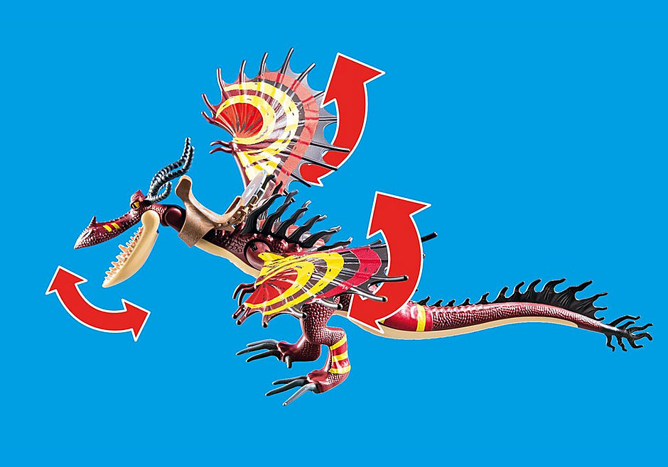 70731 Dragon Racing: Snotvlerk + Haaktand detail image 4
