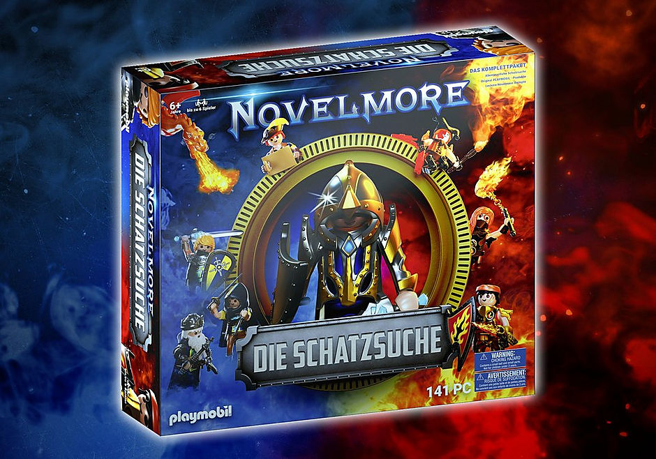 70736 PLAYMOBIL®Box: NOVELMORE Die Schatzsuche Das Familienevent detail image 1