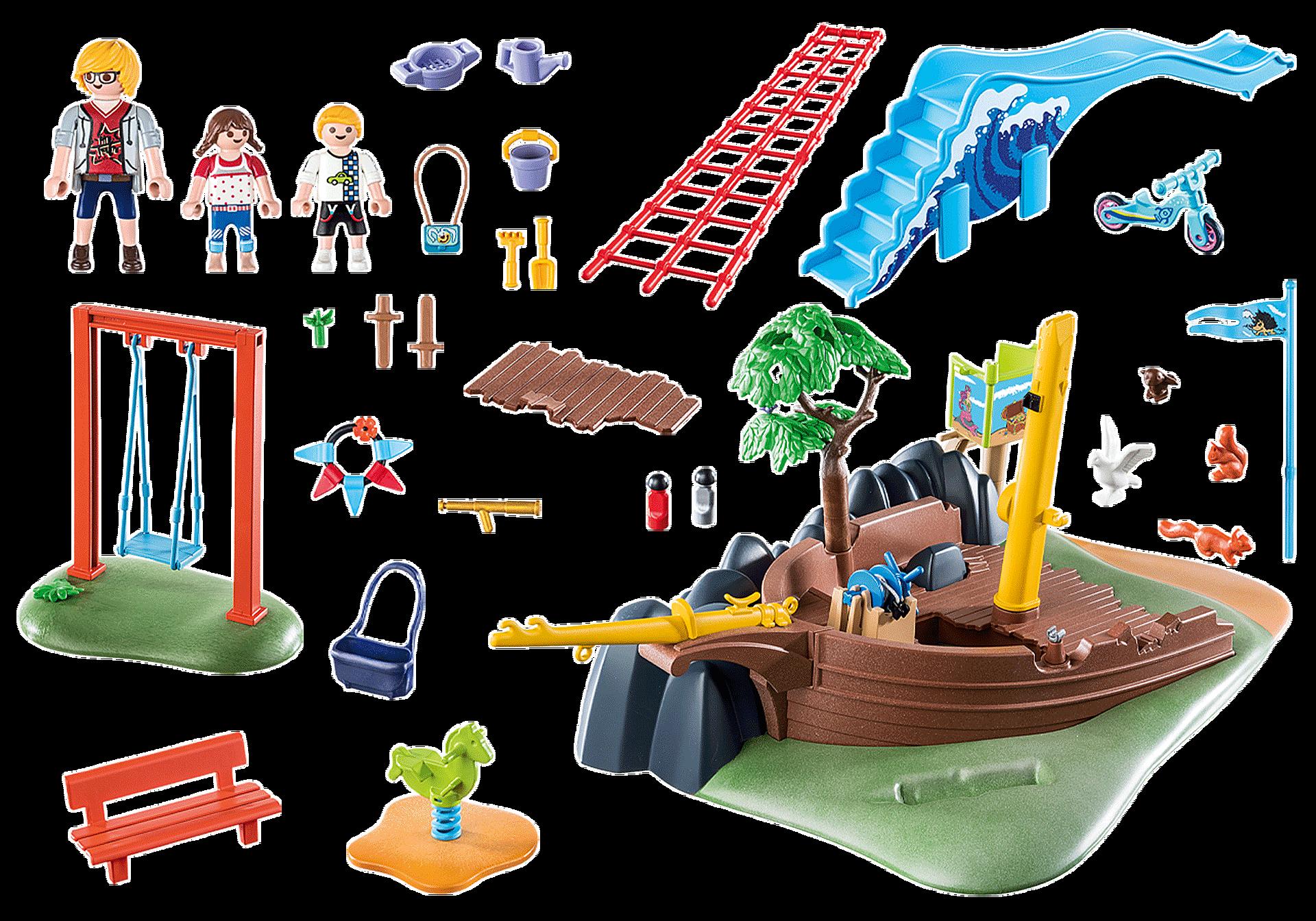 70741 Avontuurlijke speeltuin met scheepswrak zoom image3