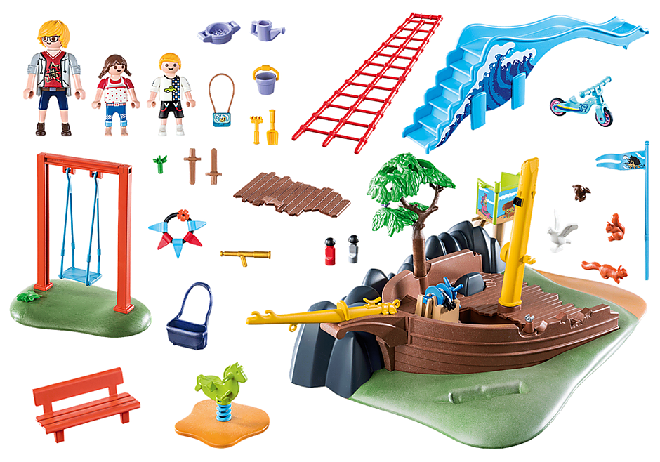 70741 Playground Adventure with Shipwreck detail image 3