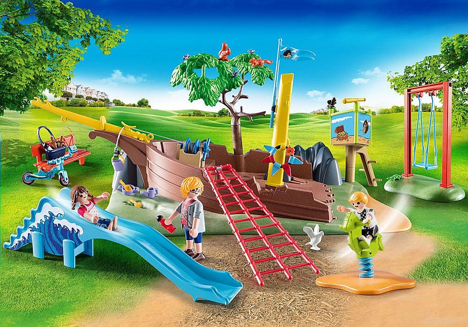 70741 Avontuurlijke speeltuin met scheepswrak detail image 1