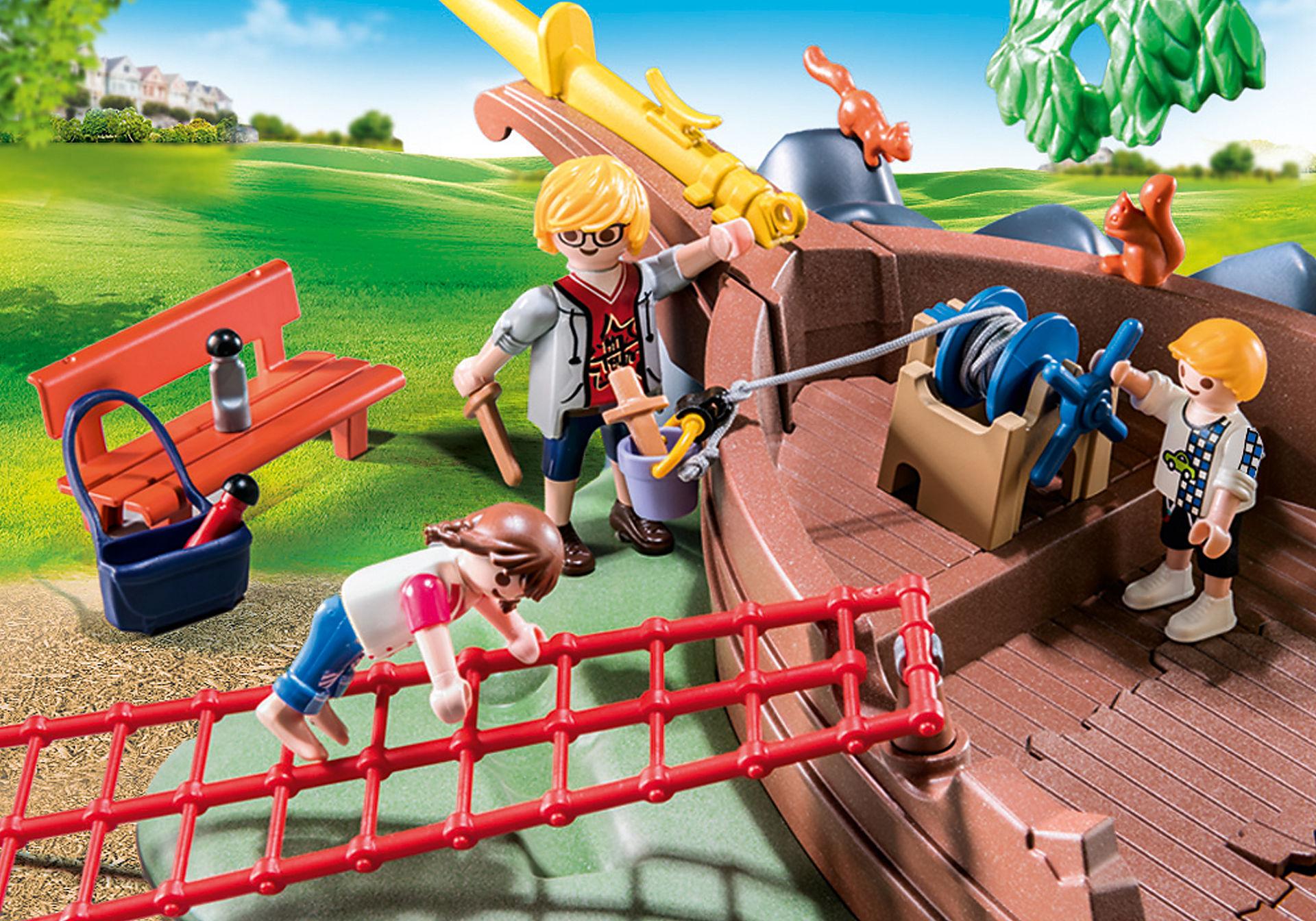70741 Avontuurlijke speeltuin met scheepswrak zoom image5