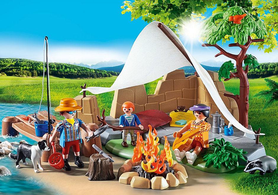70743 Familie på campingtur detail image 4