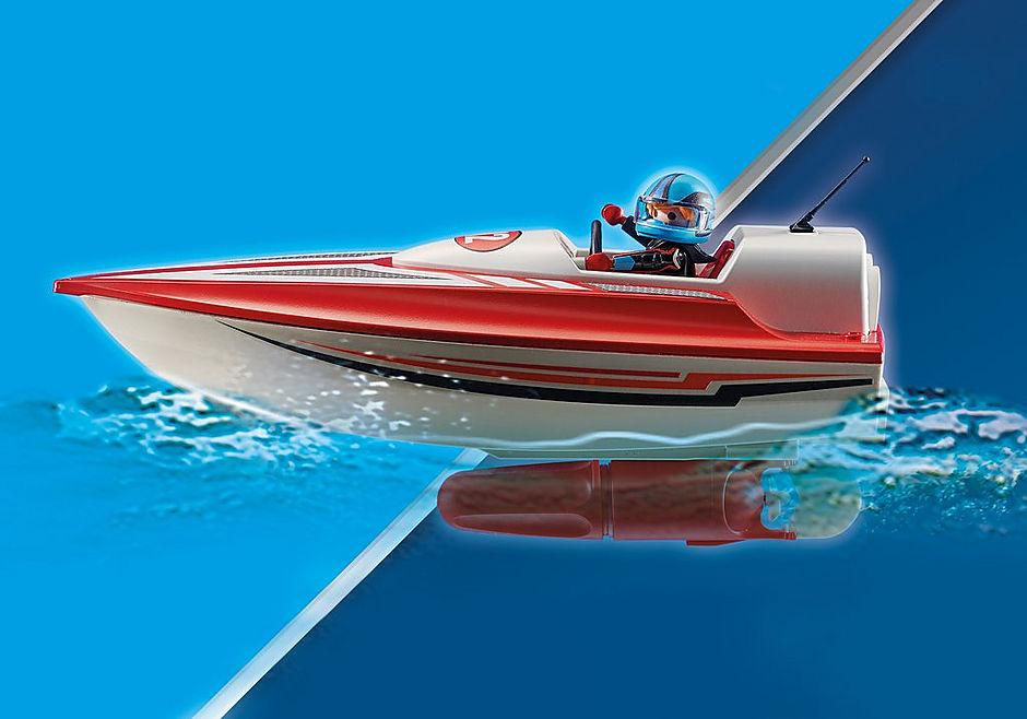 70744 Speedboot met onderwatermotor detail image 5