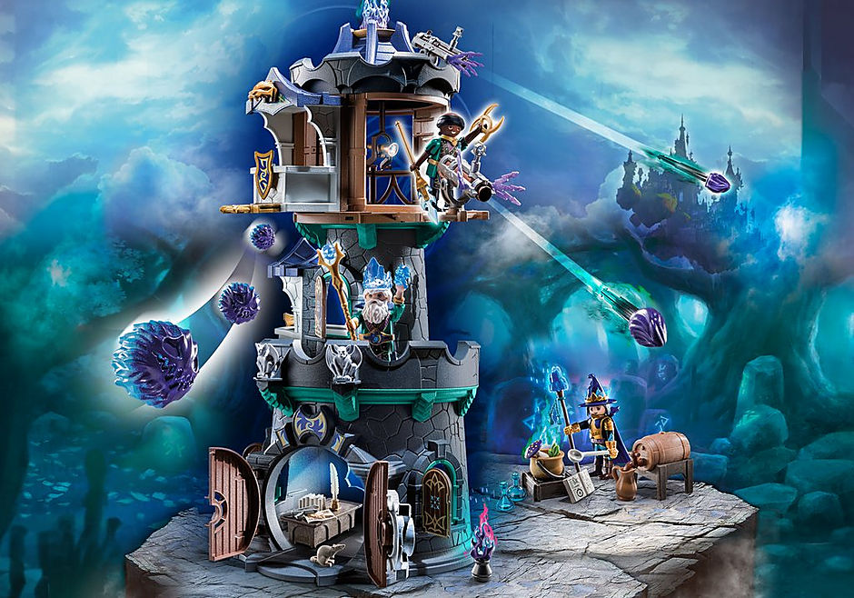 70745 Violet Vale - Wieża czarodzieja detail image 1