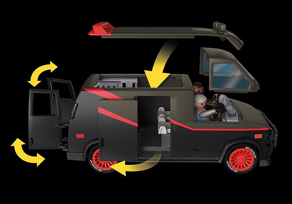 70750 La furgoneta del Equipo A detail image 4