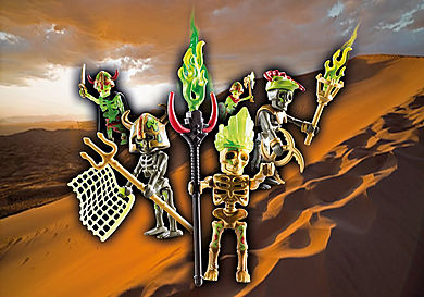 70752 Skeleton Surprise Box - Sal'ahari Sands Войско скелетов