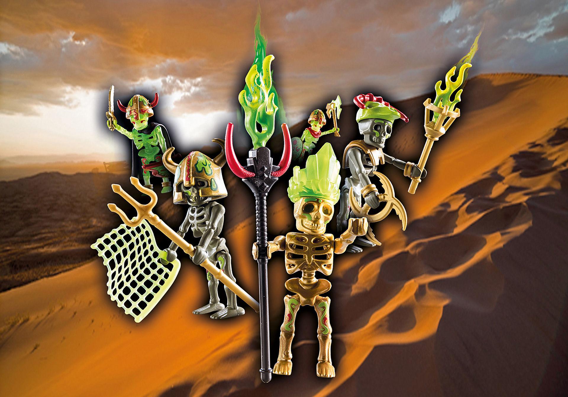 70752 Skeleton Surprise Box - Sal'ahari Sands teschio guerriero zoom image1