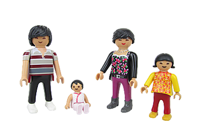 70753 Adultes avec enfants B
