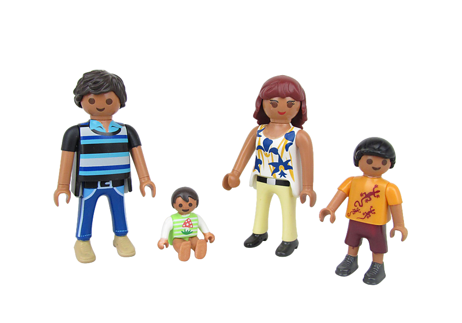 70755 Family Figure Set 4 detail image 1