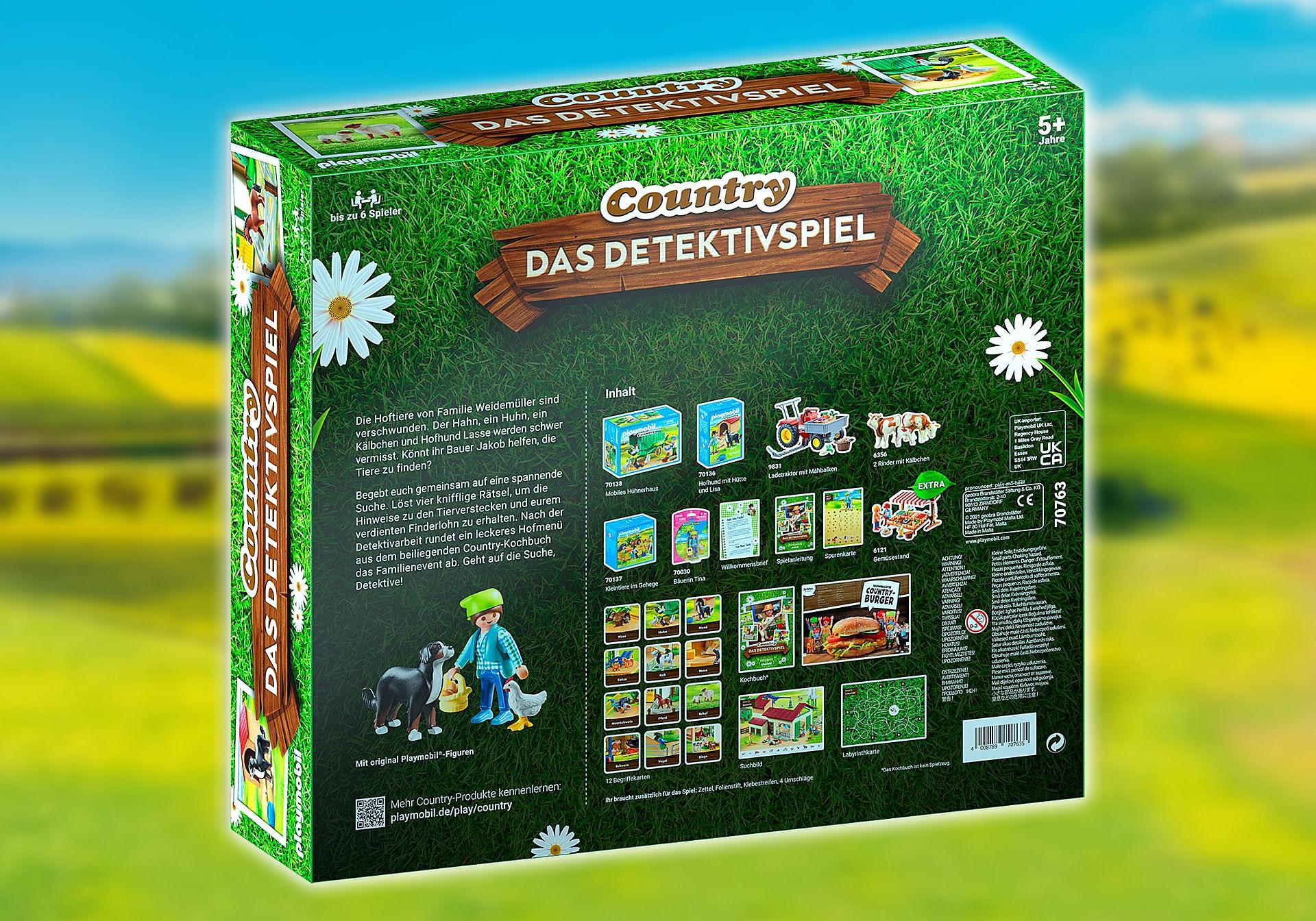 70763 PLAYMOBIL®Box: COUNTRY Das Detektivspiel Das Familienevent zoom image2