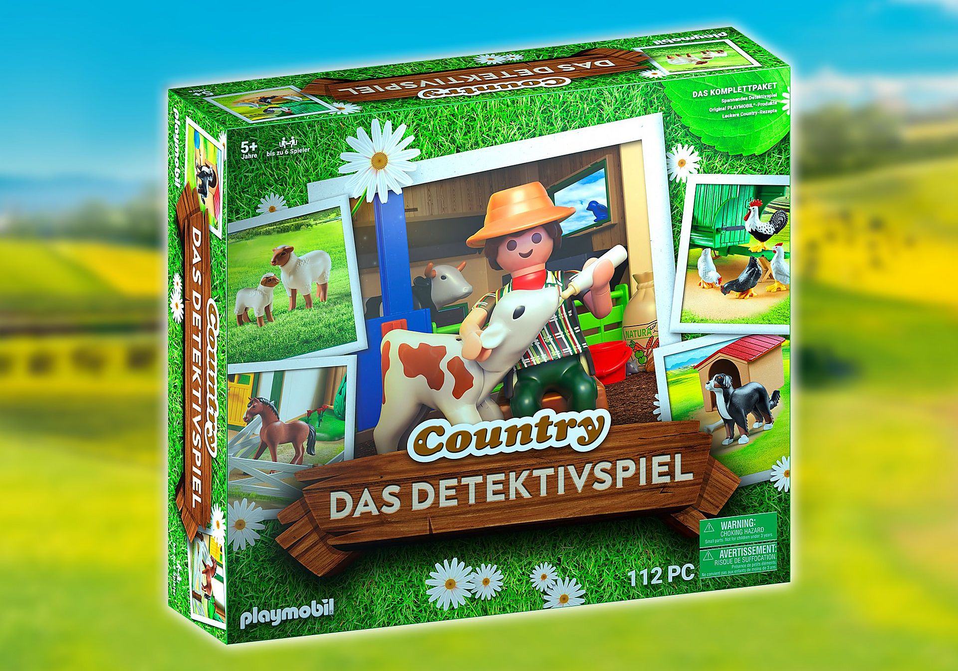 70763 PLAYMOBIL®Box: COUNTRY Das Detektivspiel Das Familienevent zoom image1