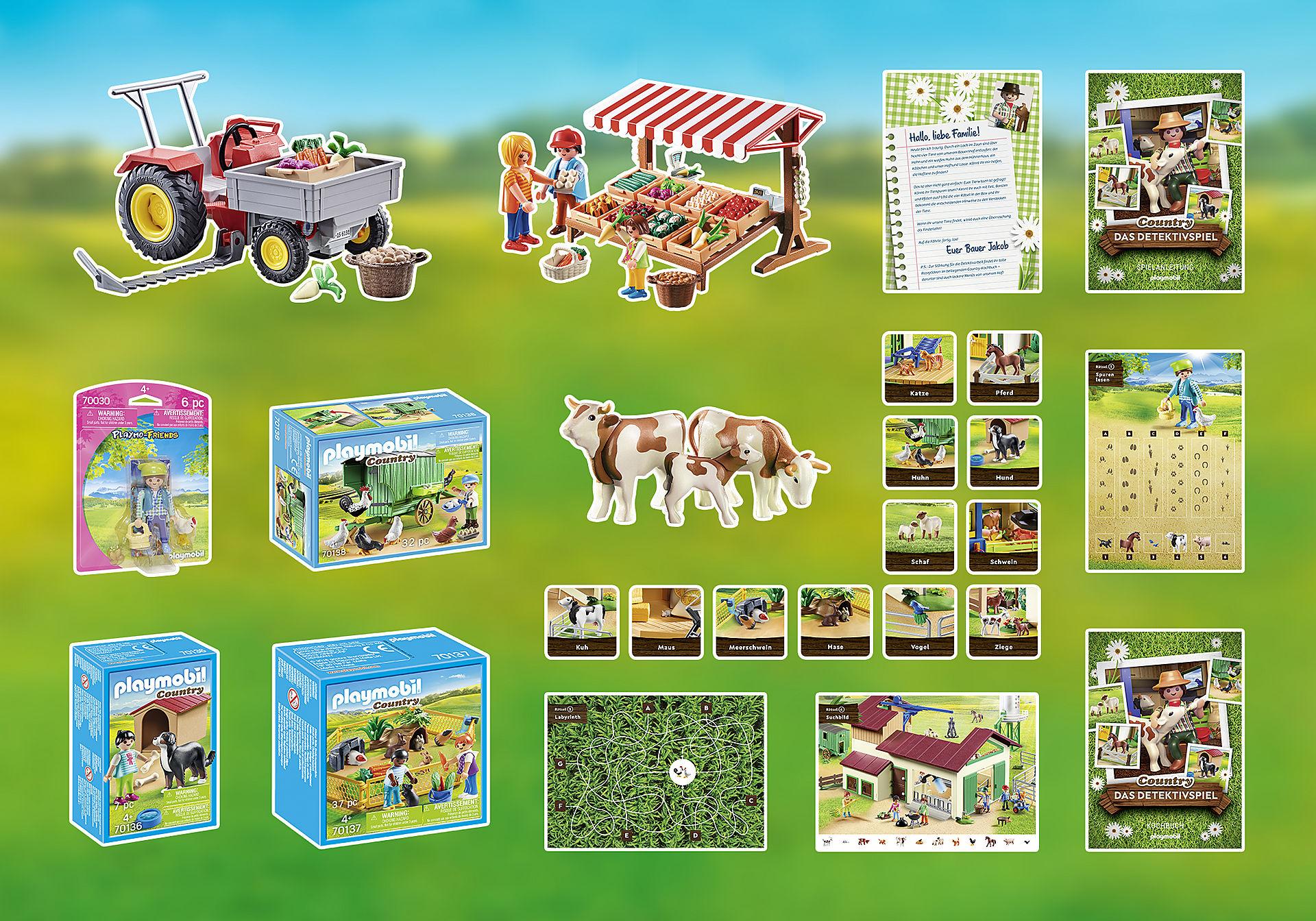 70763 PLAYMOBIL®Box: COUNTRY Das Detektivspiel Das Familienevent zoom image3
