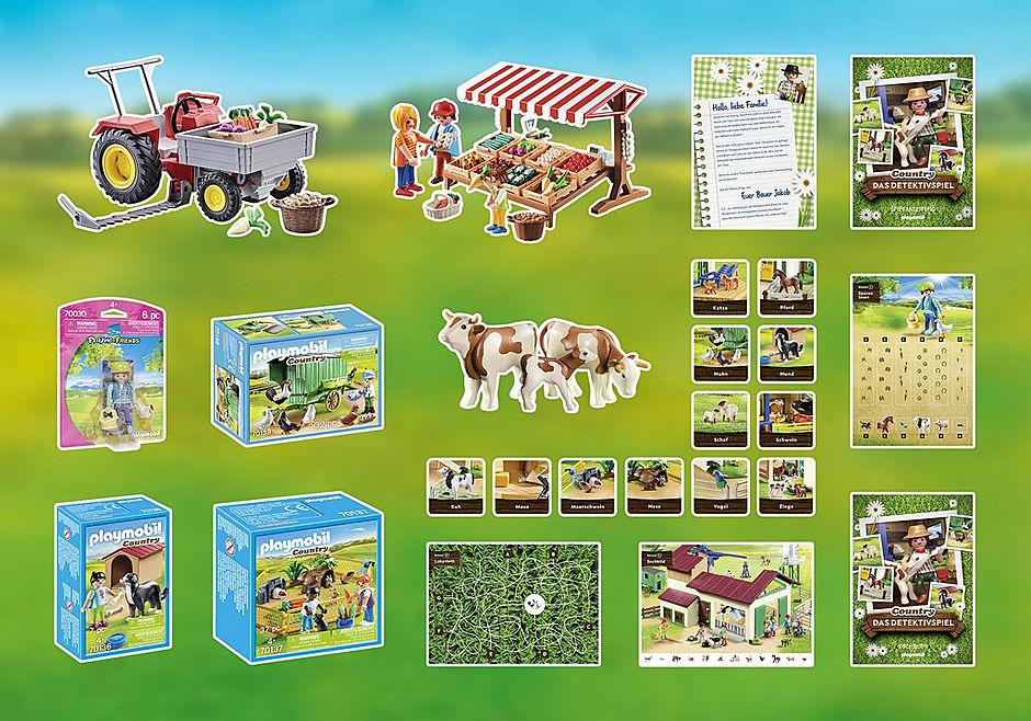 70763 PLAYMOBIL®Box: COUNTRY Das Detektivspiel Das Familienevent detail image 3
